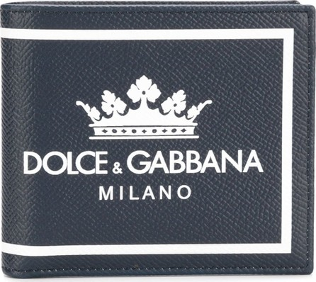 Dolce & Gabbana Logo patch wallet