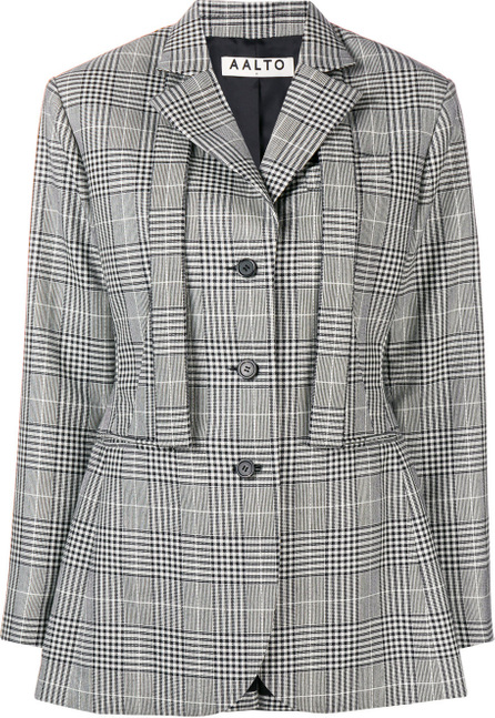 Aalto Oversized checked blazer