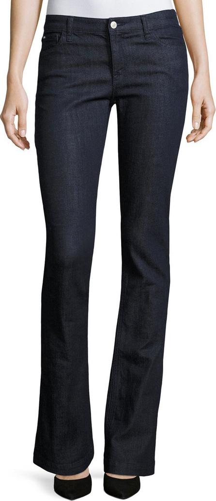 Armani Jeans Mid-Rise Boot-Cut Stretch-Denim Jeans, Indigo