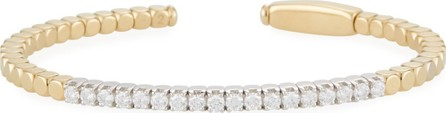 Roberto Demeglio Dado 18k Gold Diamond Bangle Bracelet