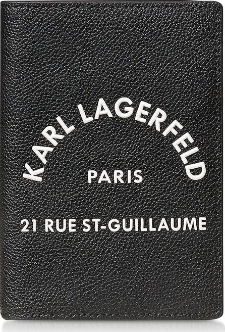 Karl Lagerfeld Rue St. Guillaume Passport Holder