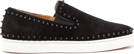 Christian Louboutin Roller-Boat spiked slip-on trainers