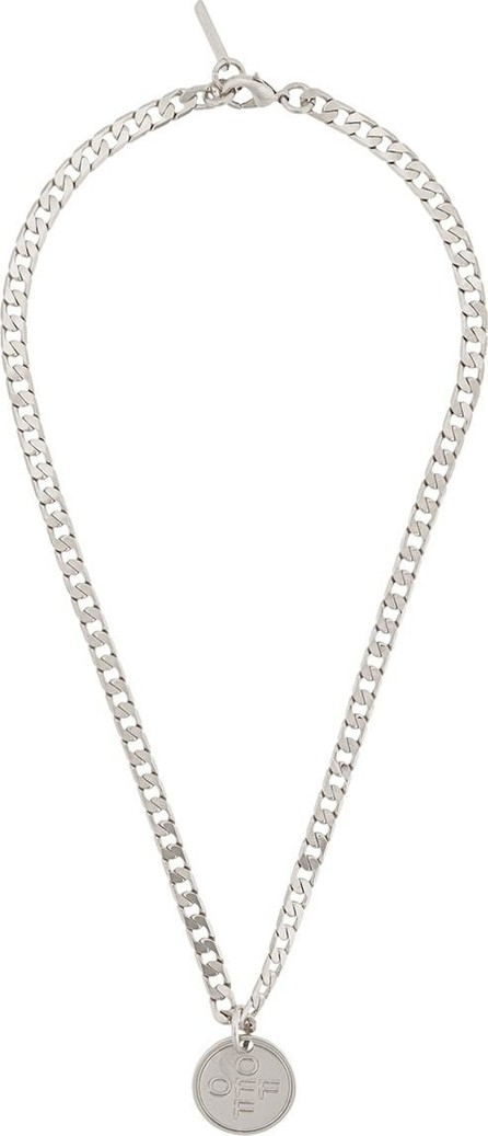 Off White Logo pendant necklace