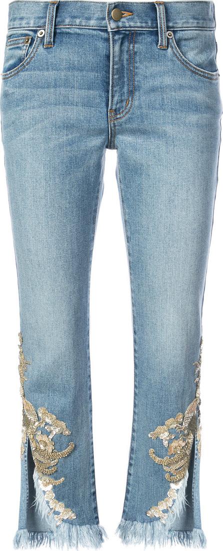 KOBI HALPERIN Embellished cropped jeans
