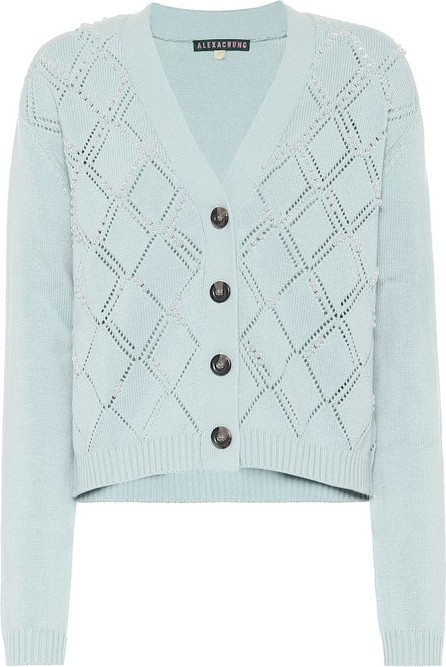 Alexachung Mabel wool and cotton cardigan
