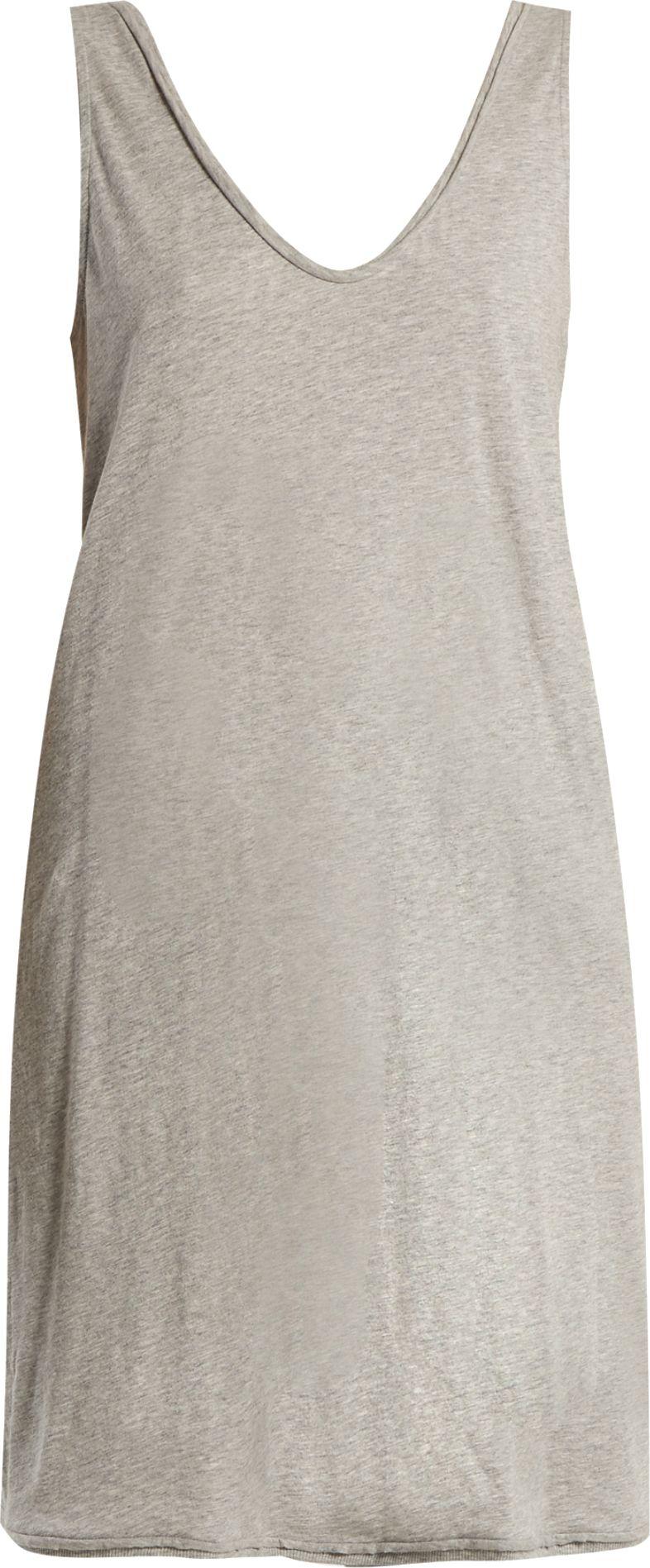 SKIN - Cotton-jersey nightdress
