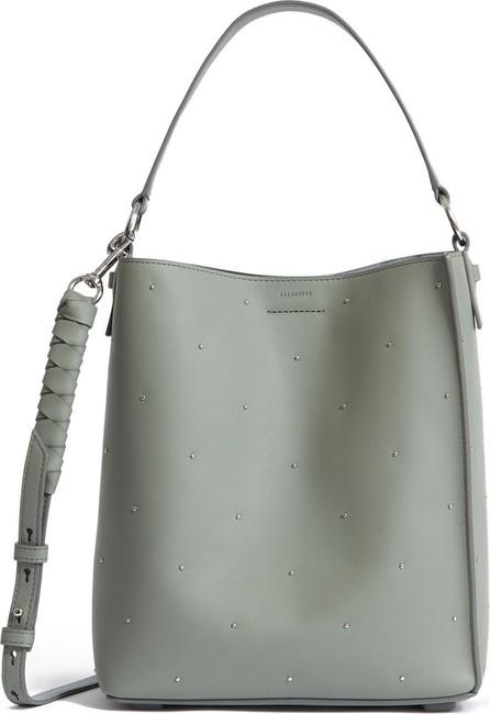 ALLSAINTS Kathi Studded Leather Tote Bag