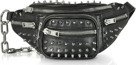 Alexander Wang Black Studded Attica Mini Fanny Xbody Belt Bag