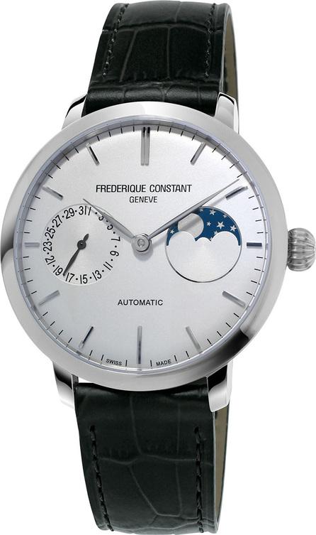 Frederique Constant 38,8mm Slimline Manufacture Moonphase Watch