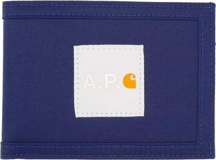 A.P.C. Indigo Carhartt WIP Edition Card Holder