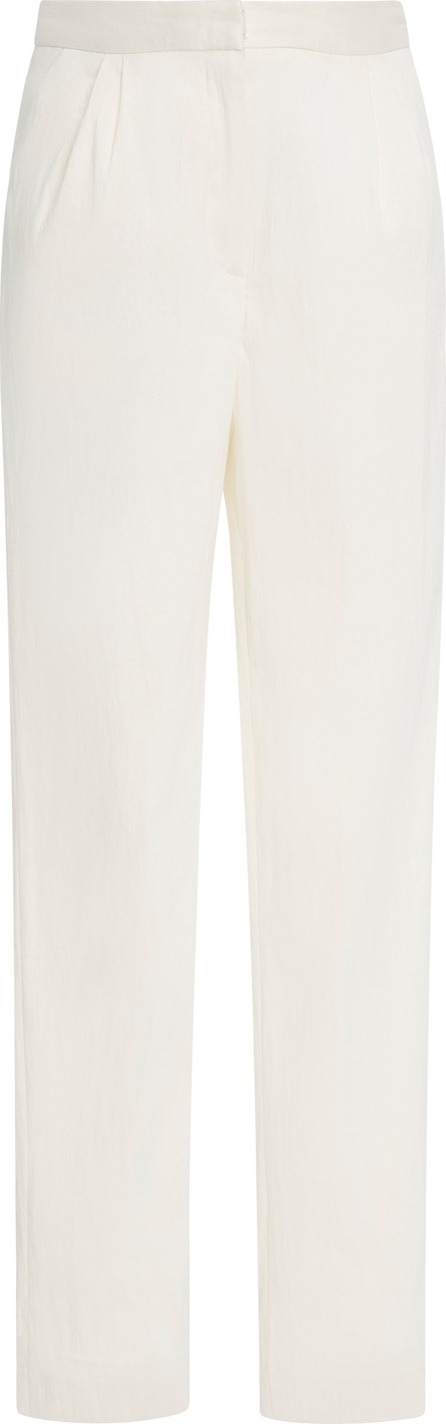 Mansur Gavriel Cropped Twill Tapered Pants
