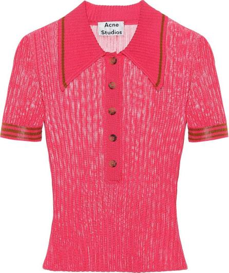 Acne Studios Shanita knitted top
