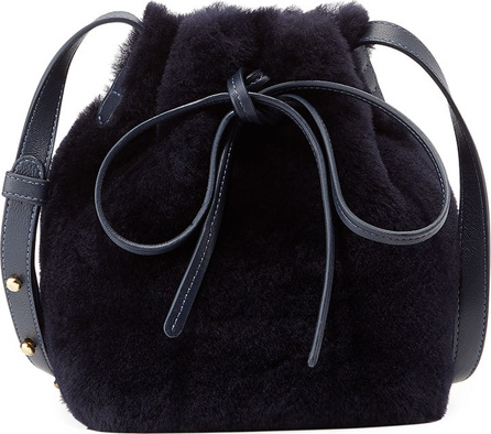 Mansur Gavriel Mini-Mini Shearling Bucket Bag
