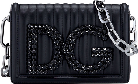 Dolce & Gabbana DG Girls Quilted Leather Crossbody Bag
