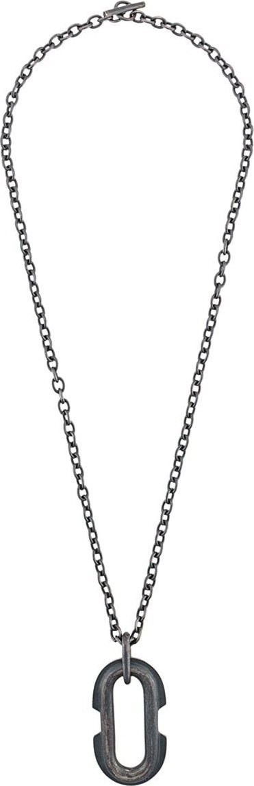 Parts of Four Halo link necklace