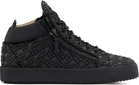 Giuseppe Zanotti Kriss diamond-textured sneakers