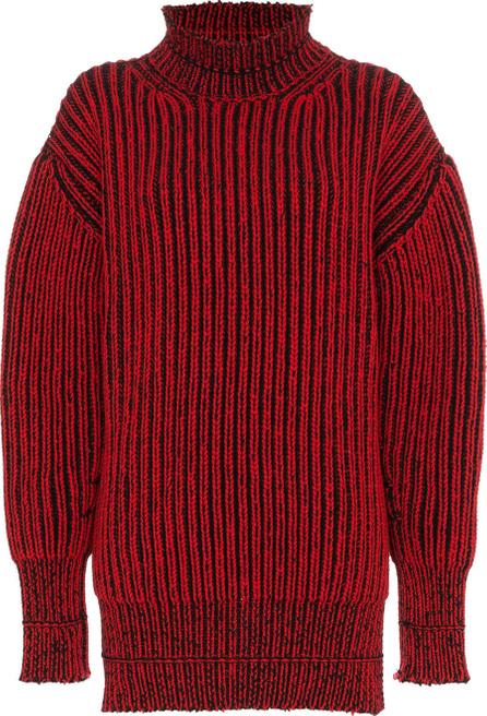 Balenciaga Distressed rib jumper