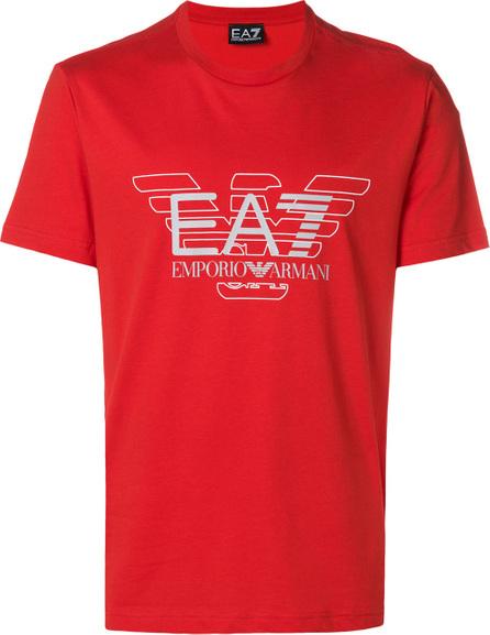Ea7 Emporio Armani Logo print T-shirt