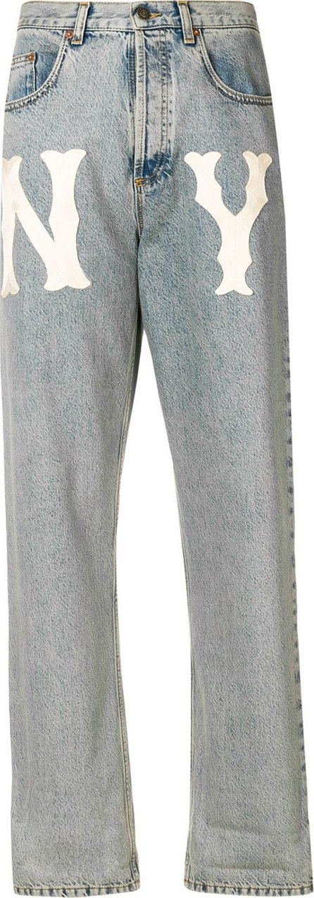 Gucci NY Yankees™ patch jeans
