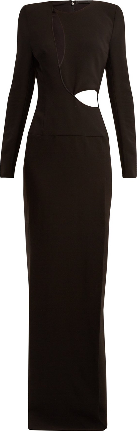 Haider Ackermann Coronus cut-out crepe gown