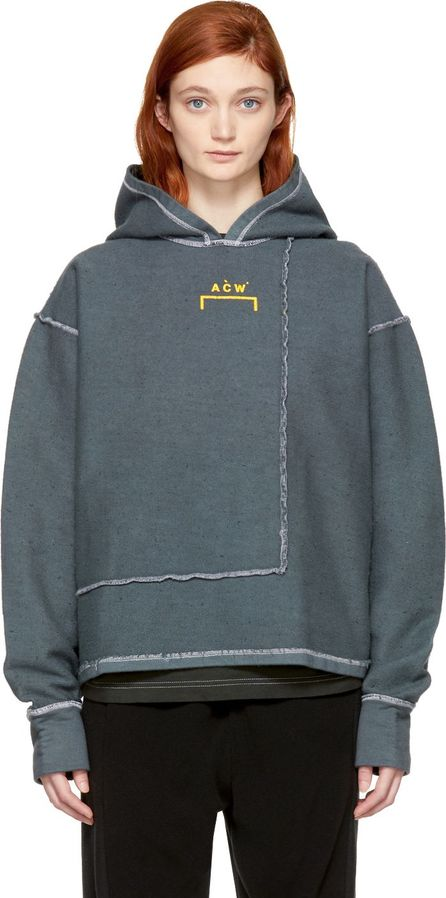 A-Cold-Wall* Grey Version 2 Signature Hoodie