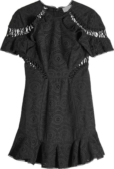 Zimmermann Helm Circles Flutter Mini Dress