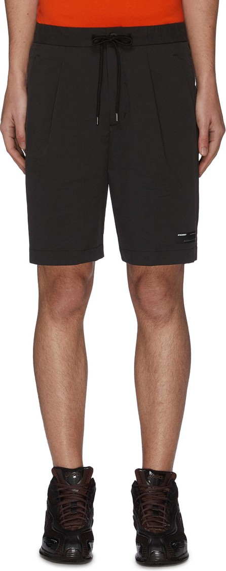 ATTACHMENT Pleat Stretch Shorts