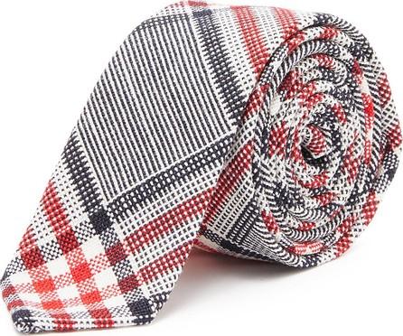 Thom Browne Check plaid tie