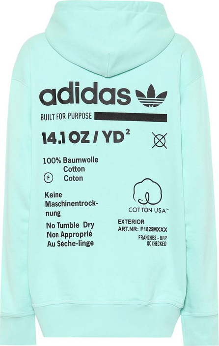 Adidas Originals Printed cotton hoodie