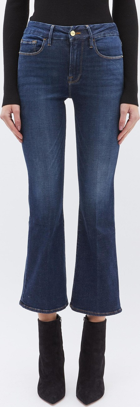 FRAME DENIM 'Le Crop Mini Boot' jeans