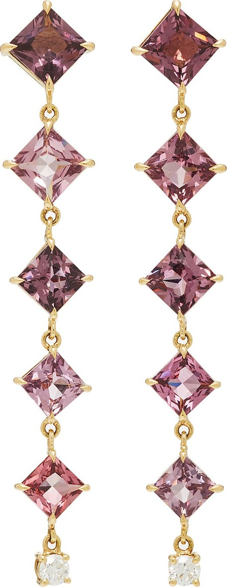 Yi Collection 18K Gold, Spinel and Diamond Earrings