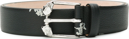 Alexander McQueen Skeleton printed belt