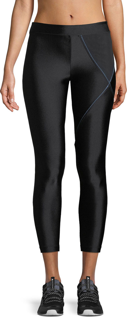 KORAL Knight Cropped Mid-Rise Performance Leggings