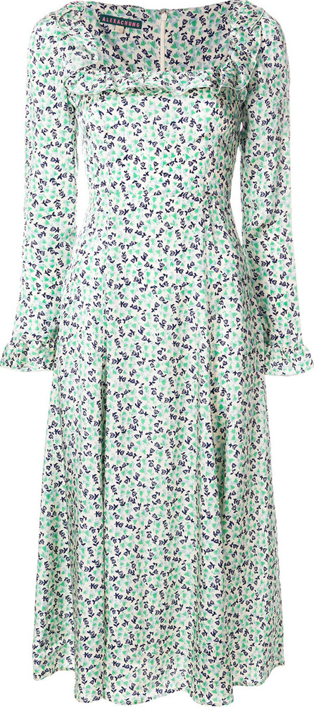 Alexa Chung Flower print dress