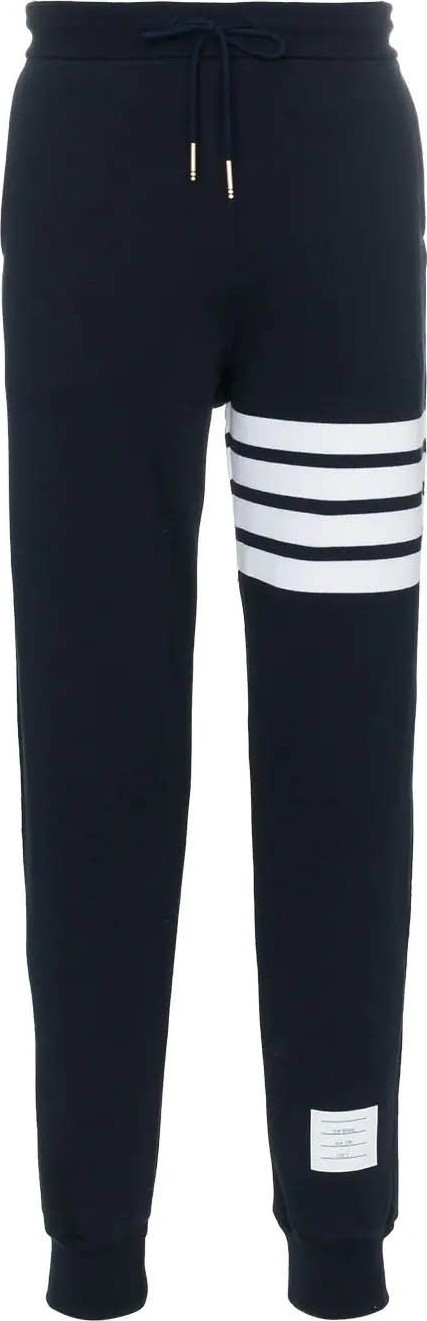 Thom Browne 4-bar jersey sweatpant