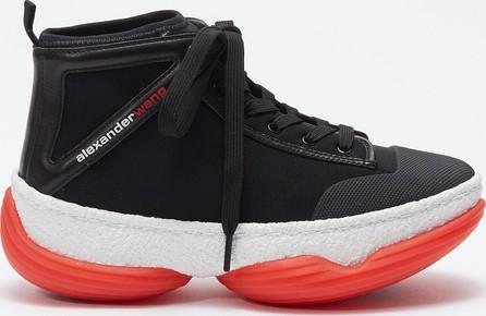 Alexander Wang 'a1' colourblock chunky outsole mesh mid top sneakers