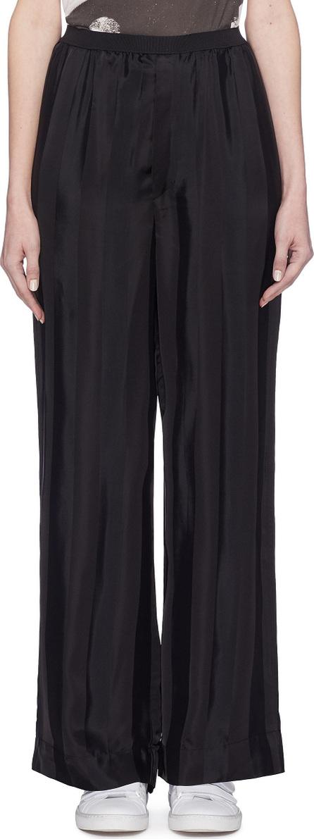 MARC JACOBS Stripe wide leg pants