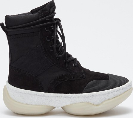 Alexander Wang 'a1' chunky outsole suede combat boots