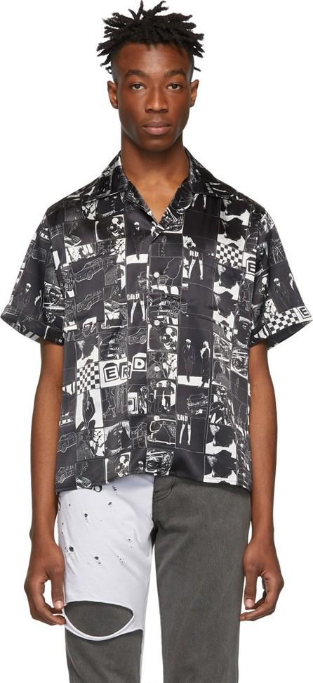 Enfants Riches Deprimes Black Dessin Animé Shirt