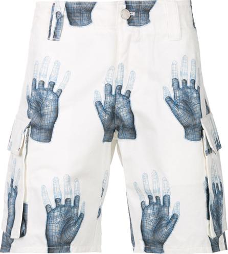 C2H4 Patterned deck shorts