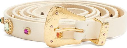 DODO BAR OR Roxana wraparound skinny embellished belt