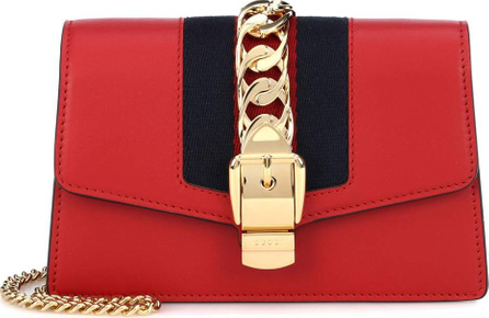 Gucci Sylvie Mini leather crossbody bag