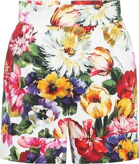 Dolce & Gabbana Floral stretch cotton shorts