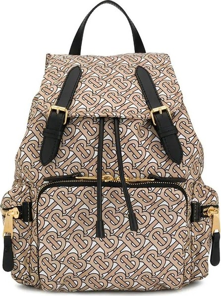 Burberry London England The Medium Rucksack in Monogram Print Nylon