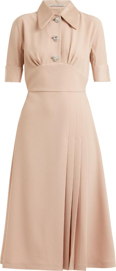 Alessandra Rich Infermiera stretch-crepe dress