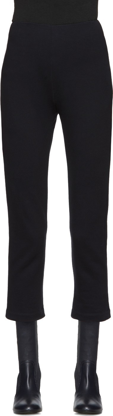 A_Plan_Application Navy Cigarette Lounge Pants