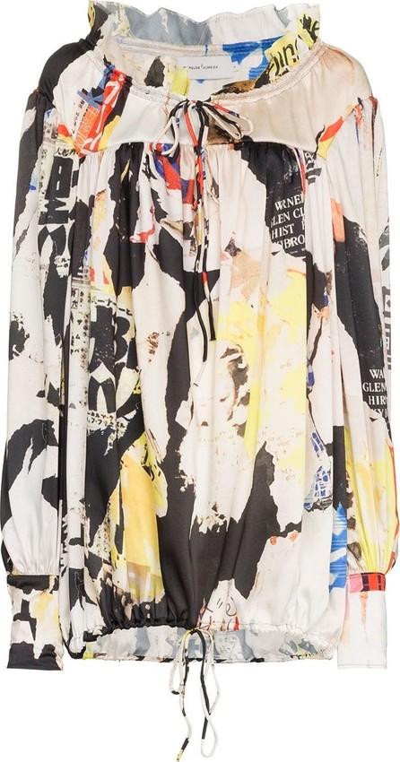 Marques'Almeida Long-Sleeved Graphic Shirt