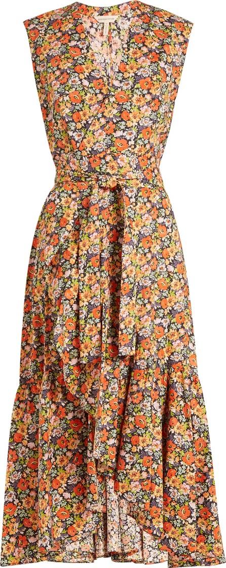 Rebecca Taylor Moonlight Garden cotton-poplin wrap dress