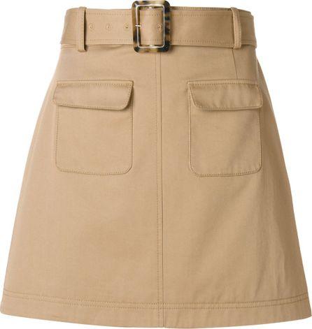 Alexa Chung patch pocket skirt