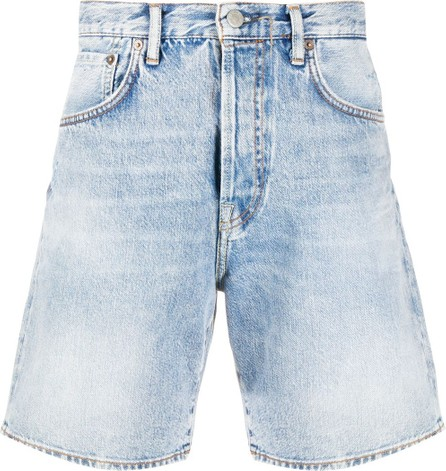 Acne Studios Flared denim shorts